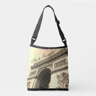 Arc de Triomphe France Sepia Vintage Tote