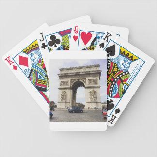 Arc de Triomphe, Paris Bicycle Playing Cards