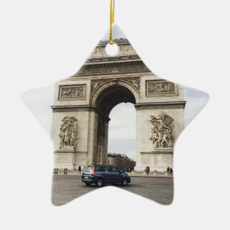 Arc de Triomphe, Paris Ceramic Star Decoration