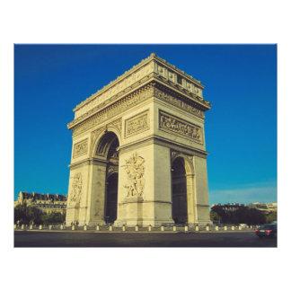 Arc de Triomphe, Paris, France Full Color Flyer