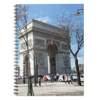 Arc de Triomphe, Paris, France Note Books