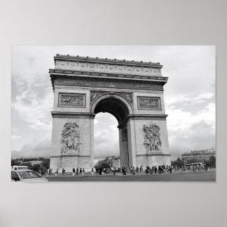 Arc de Triomphe Paris Poster