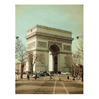 Arc de Trionphe (Paris-France) Postcard