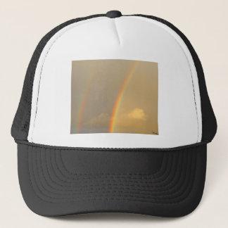 Arc in sky trucker hat