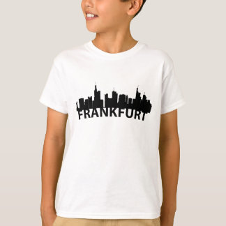 Arc Skyline Of Frankfurt Germany T-Shirt