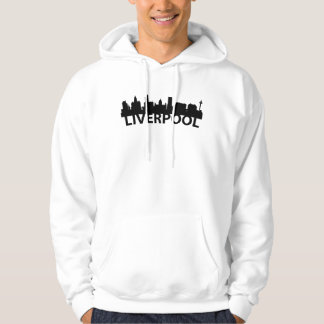 Arc Skyline Of Liverpool England Hoodie