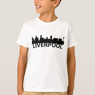 Arc Skyline Of Liverpool England T-Shirt