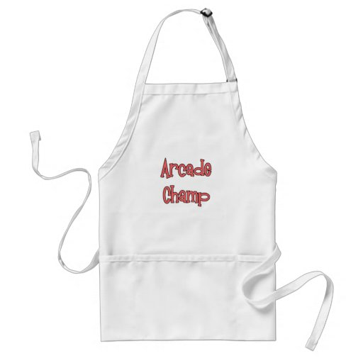 Arcade Champ by Chillee Wilson Apron