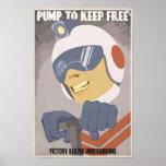 Arcade game propaganda poster- fourth in a series