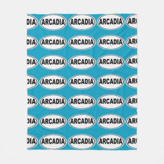 Arcadia California Fleece Blanket