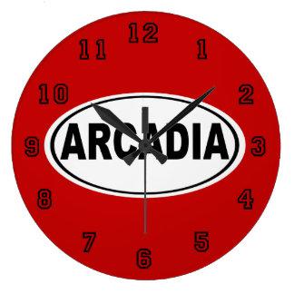 Arcadia California Large Clock