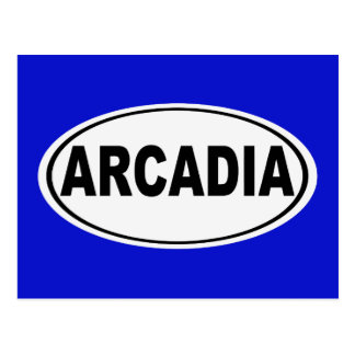 Arcadia California Postcard