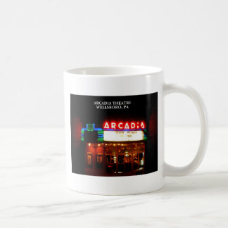 ARCADIA THEATER - WELLSBORO, PENNSYLVANIA COFFEE MUG