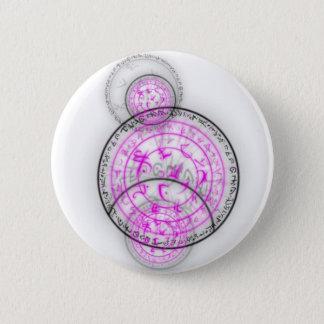 Arcane Mystic Shapes 6 Cm Round Badge