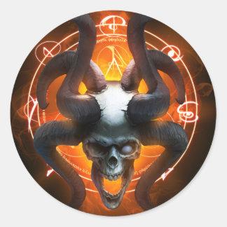 Arcane Skull Sticker