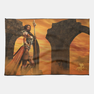 Arcane Warrior Tea Towel