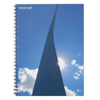 Arch-1-leg Notebook