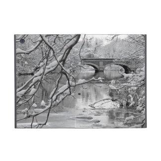 Arch Bridge over Frozen River in Winter Cases For iPad Mini