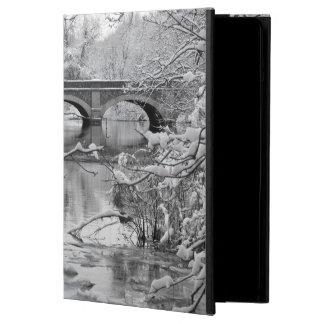 Arch Bridge over Frozen River in Winter iPad Air Case
