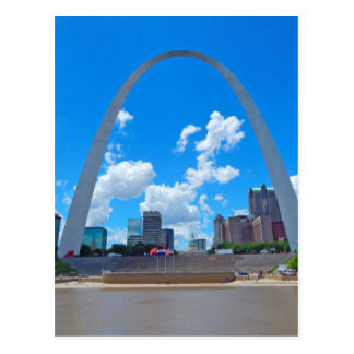 Arch-from-boat Postcard