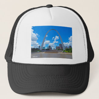 Arch-from-boat Trucker Hat