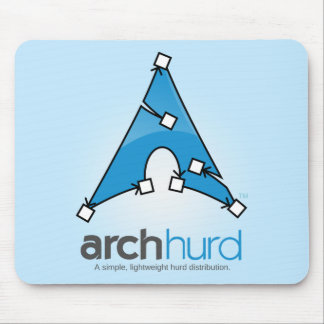 Arch Hurd Logo Mousemat