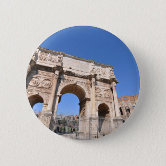 Arch in Rome, Italy 6 Cm Round Badge