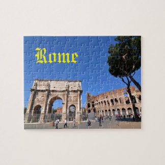Arch in Rome, Italy Jigsaw Puzzle