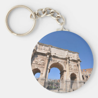 Arch in Rome, Italy Key Ring