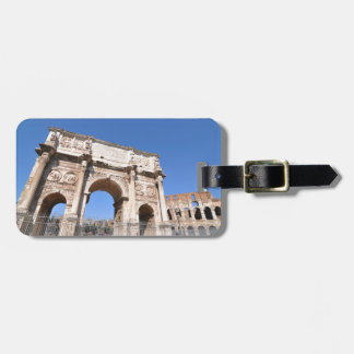Arch in Rome, Italy Luggage Tag