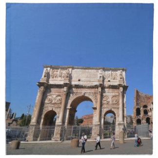 Arch in Rome, Italy Napkin