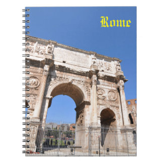 Arch in Rome, Italy Notebook