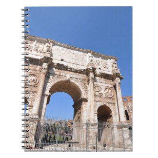 Arch in Rome, Italy Notebooks
