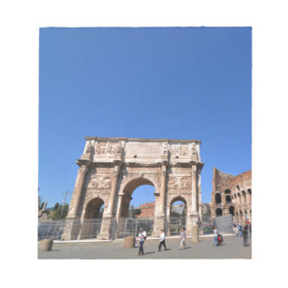 Arch in Rome, Italy Notepad
