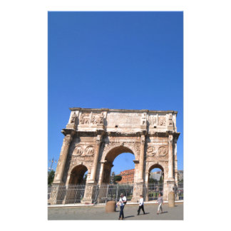 Arch in Rome, Italy Stationery