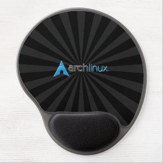 Arch Linux Black StarBurst Gel Mouse Pad