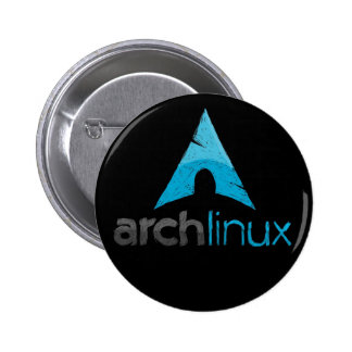 Arch Linux Logo 6 Cm Round Badge