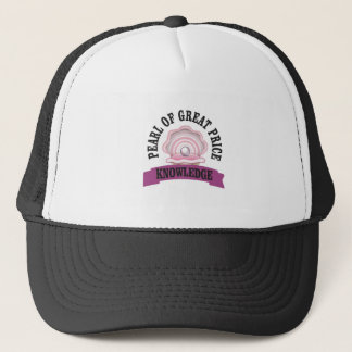 arch of knowledge trucker hat