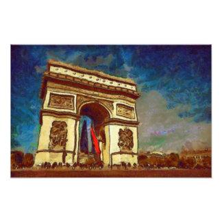Arch of Triumph Photo Print