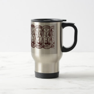 Arch ornament element design mugs
