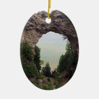 Arch Rock 832 Ceramic Ornament