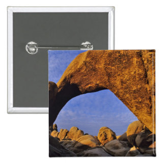 Arch Rock at Joshua Tree National Park in Button