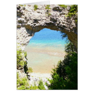 Arch Rock, Mackinac Island Card
