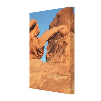 Arch Rock Valley of Fire Canvas Print