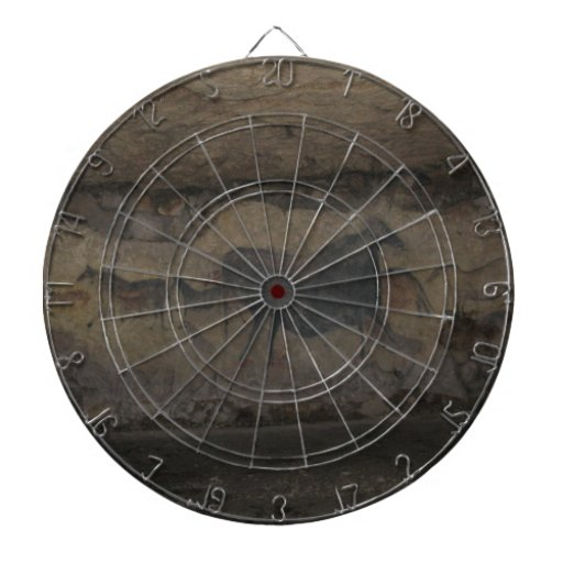 Archaeological cave paintings dart boards