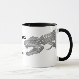 Archaeologists will date anything mug