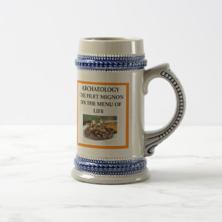 ARCHAEOLOGY BEER STEIN