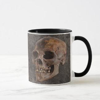 Archaeology II - Skull on Stone-effect Background Mug