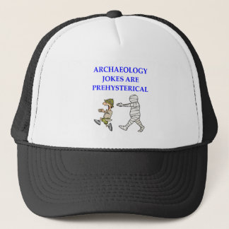 archaeology trucker hat