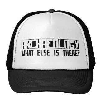 Archaeology What Else Is There? Cap